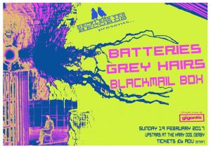 Batteries poster by Phil Burgess