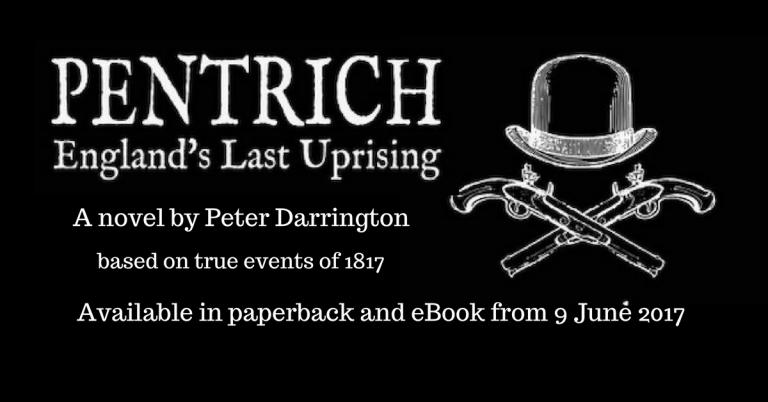 Pentrich England's Last Uprising advert