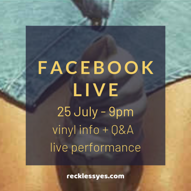 Facebook Live -25 July at 9pm - talking Look Up with Mark Morriss