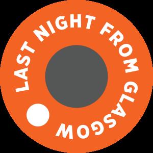 Last Night From Glasgow logo