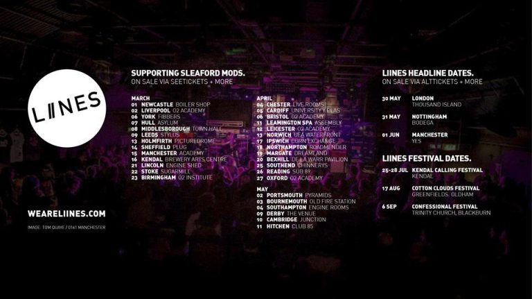 LIINES tour dates
